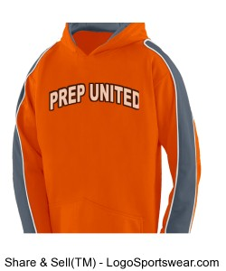 Prep United Youth Hoody Design Zoom